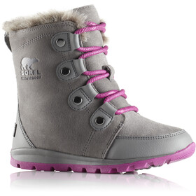 Sorel Whitney Joan Boots Girls quarry/raspberry